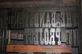 Original Wooden Type